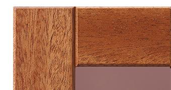 表彰楯の木製フレームの紹介(マホガニー)