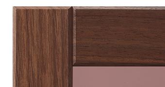 表彰楯の木製フレームの紹介(ウォールナット)