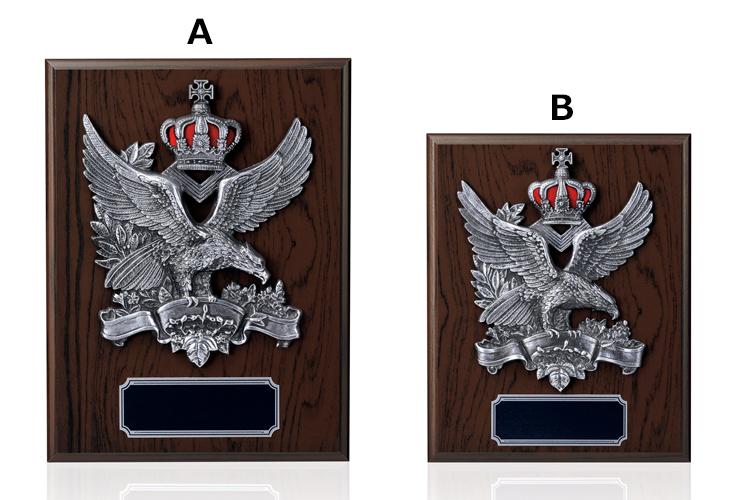 定番人気の木製高級表彰楯 JFJ-F-5722
