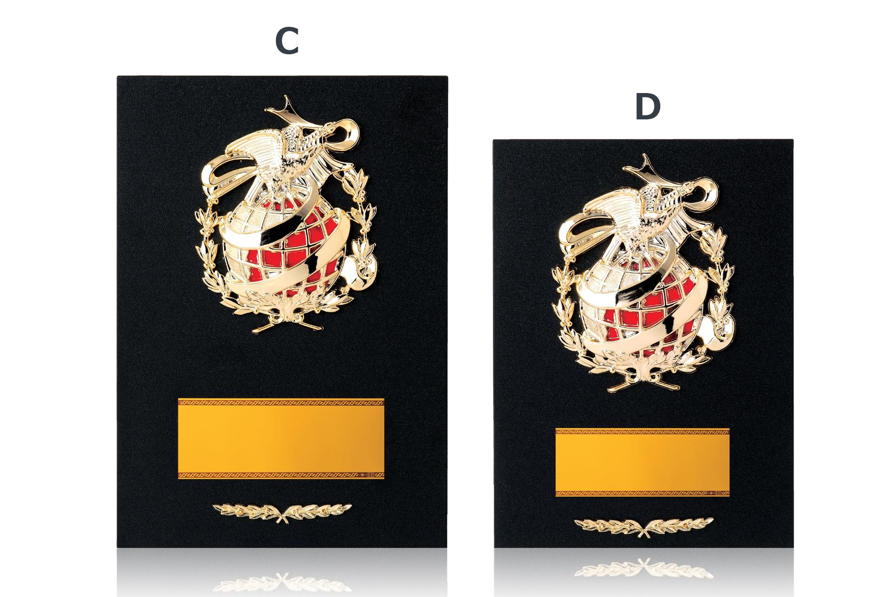 格安なお値段の木製表彰楯 JG-D-048
