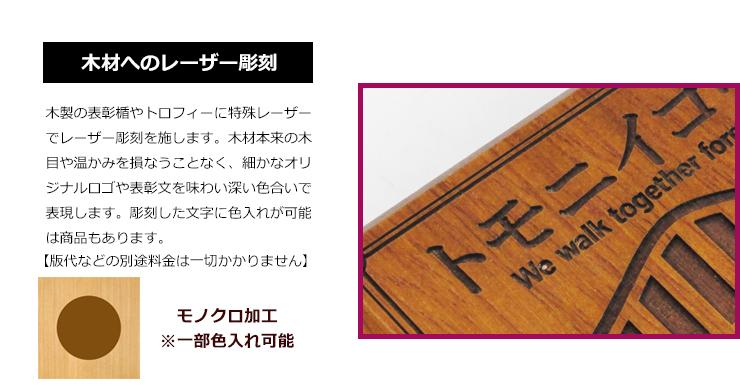 木製レーザー彫刻加工説明